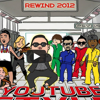 Youtube retrospectiva 2012