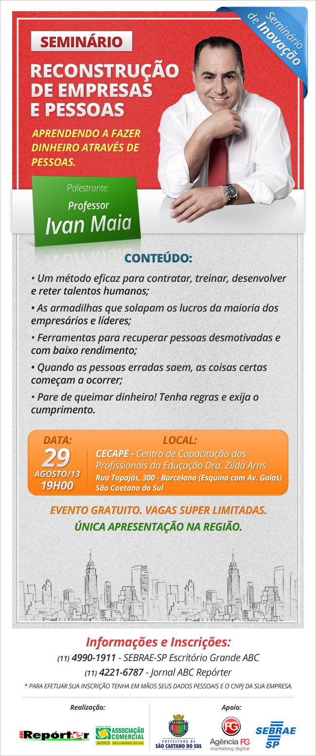 A Agência FG apoia palestra em parceria com o SEBRAE e a Prefeitura de São Caetano do Sul