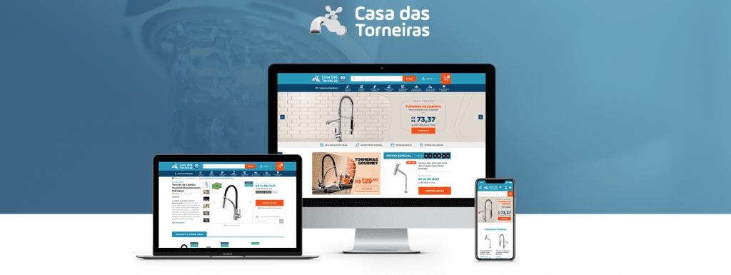 Como Montar um E-commerce de Sucesso - Casa das Torneiras