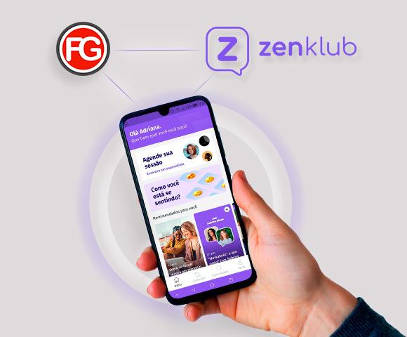 Conheça a parceria da Agência FG com o aplicativo da Zenklub | Blog Agência FG