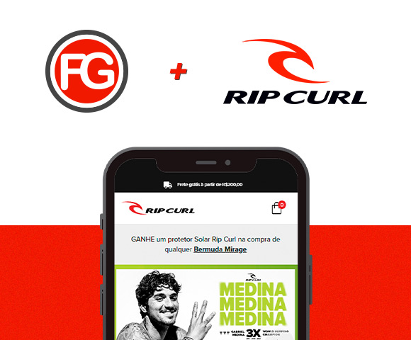 Rip Curl agora é cliente FG! Acesse nosso blog e saiba mais